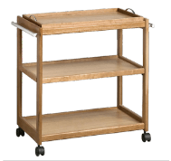 Tea and Coffee Trolley Wooden Image
